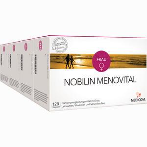 Abbildung von Nobilin Menovital Kapseln 4 x 120 Stück