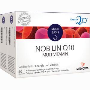Abbildung von Nobilin Q 10 Multivitamin Kapseln 120 Stück
