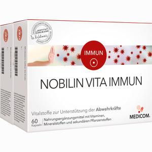 Abbildung von Nobilin Vita Immun Kapseln 2 x 60 Stück