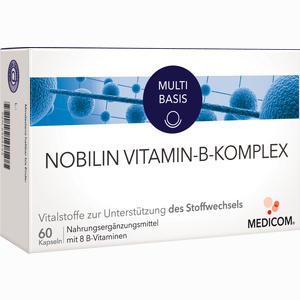 Abbildung von Nobilin Vitamin B Komplex Kapseln 60 Stück
