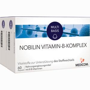 Abbildung von Nobilin Vitamin- B- Komplex Kapseln 2 x 60 Stück