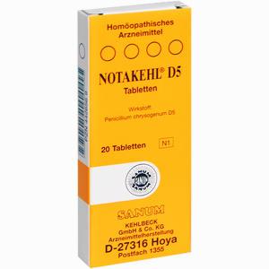 Abbildung von Notakehl D5 Tabletten 20 Stück