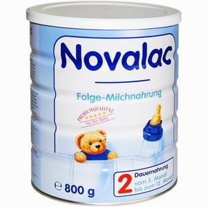 Abbildung von Novalac 2 Folge- Milchnahrung Pulver 800 g