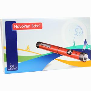 Abbildung von Novopen Echo Rot Injektionsgerät 1 Stück