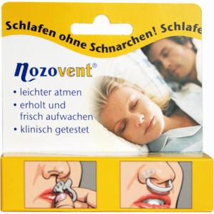 Abbildung von Nozovent Nasenklammern  2 Stück