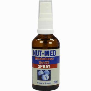 Abbildung von Nut- Med Muskatnuss Hautöl Spray  55 ml
