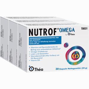 Abbildung von Nutrof Omega Kapseln 3 x 30 Stück