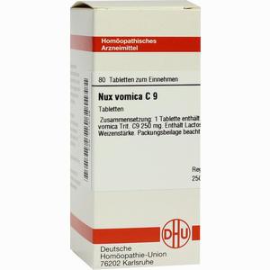 Abbildung von Nux Vomica C 9 Tabletten 80 Stück