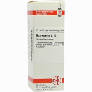 Abbildung von Nux Vomica C12 Dilution 20 ml
