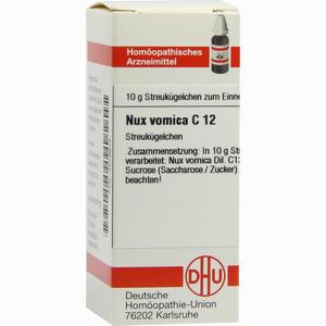 Abbildung von Nux Vomica C12 Globuli 10 g