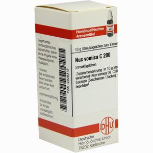 Abbildung von Nux Vomica C200 Globuli 10 g