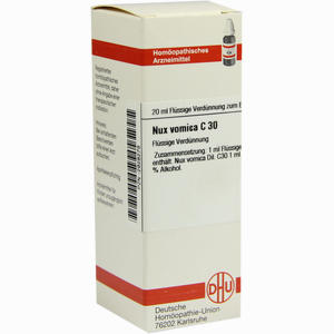 Abbildung von Nux Vomica C30 Dilution 20 ml