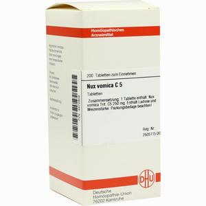 Abbildung von Nux Vomica C5 Tabletten 200 Stück
