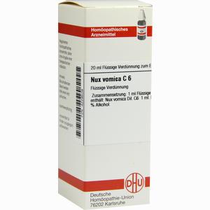 Abbildung von Nux Vomica C6 Dilution 20 ml