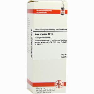 Abbildung von Nux Vomica D12 Dilution 50 ml