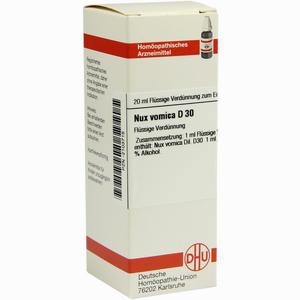 Abbildung von Nux Vomica D30 Dilution Dhu-arzneimittel 20 ml