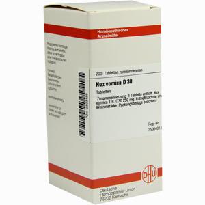 Abbildung von Nux Vomica D30 Tabletten 200 Stück