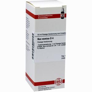 Abbildung von Nux Vomica D4 Dilution 50 ml