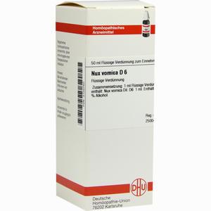 Abbildung von Nux Vomica D6 Dilution Dhu-arzneimittel 50 ml