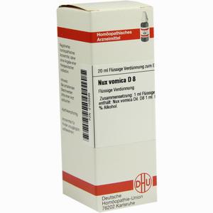 Abbildung von Nux Vomica D8 Dilution 20 ml