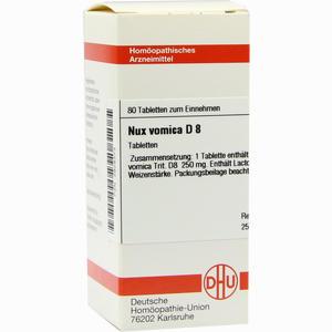 Abbildung von Nux Vomica D8 Tabletten 80 Stück
