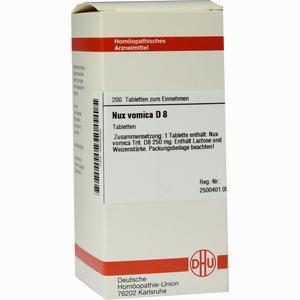Abbildung von Nux Vomica D8 Tabletten 200 Stück