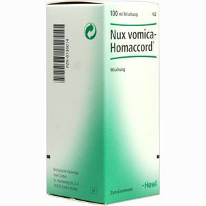Abbildung von Nux Vomica Homaccord Tropfen 100 ml