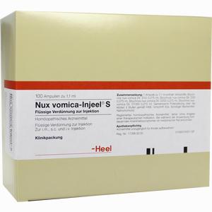 Abbildung von Nux Vomica Inj S Ampullen 100 Stück