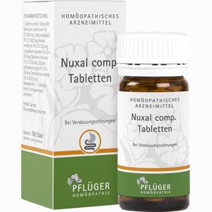 Abbildung von Nuxal Comp. Tabletten  100 Stück