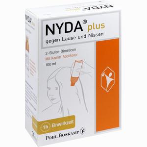 Abbildung von Nyda Plus mit Kamm- Applikator Lösung 100 ml