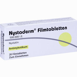 Abbildung von Nystaderm Filmtabletten 20 Stück
