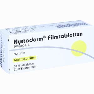 Abbildung von Nystaderm Filmtabletten 50 Stück