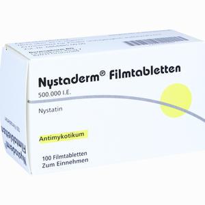 Abbildung von Nystaderm Filmtabletten 100 Stück
