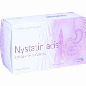 Abbildung von Nystatin Acis Fimtabletten Filmtabletten 100 Stück