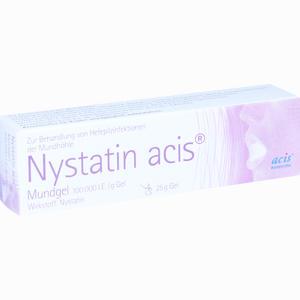 Abbildung von Nystatin Acis Mundgel Gel 25 g