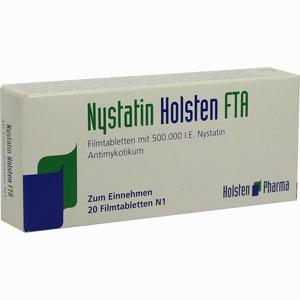 Abbildung von Nystatin Holsten Filmtabletten 20 Stück