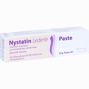 Abbildung von Nystatin Lederle Paste 25 g