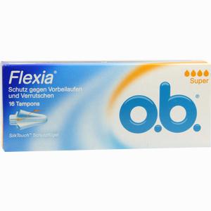 Abbildung von O.b. Flexia Super Tampon 16 Stück