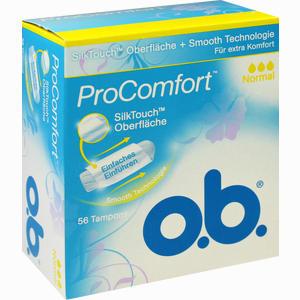 Abbildung von O.b. Procomfort Normal Tampon 56 Stück