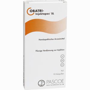 Abbildung von Obatri- Injektopas Sl Ampullen 10 x 2 ml
