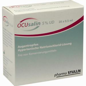 Abbildung von Ocusalin 5% Ud Augentropfen 20 x 0.5 ml