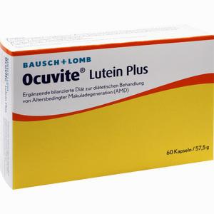 Abbildung von Ocuvite Lutein Plus Kapseln 60 Stück