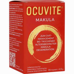 Abbildung von Ocuvite Makula Kapseln 84 Stück