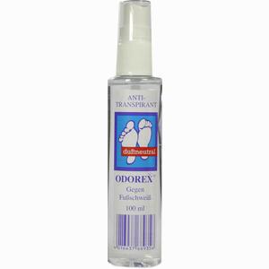 Abbildung von Odorex gegen Fuß- Schweiß Körperpflege 100 ml
