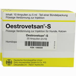 Abbildung von Oestrovetsan- S Vet Injektionslösung 2 x 10 x 5 ml