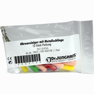 Abbildung von Ohrenreiniger mit Metallschlinge Dr. junghans medical 12 Stück