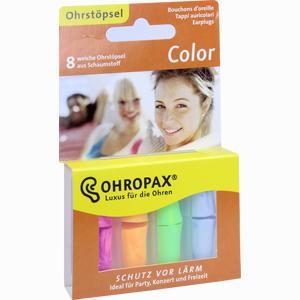 Abbildung von Ohropax Color 8 Stück