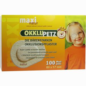 Abbildung von Okklupetz Maxi Natur 100 Stück