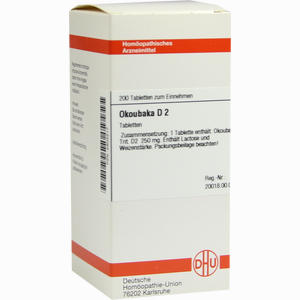 Abbildung von Okoubaka D2 Tabletten 200 Stück