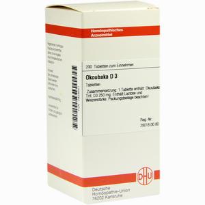 Abbildung von Okoubaka D3 Tabletten 200 Stück